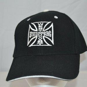 West Coast Chopper Black Baseball Cap Adjustable S